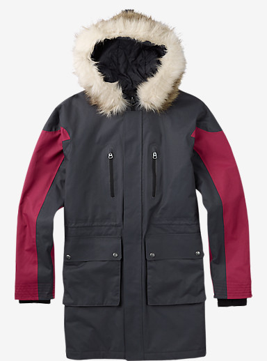 Burton Olympus Jacket shown in Forged Iron