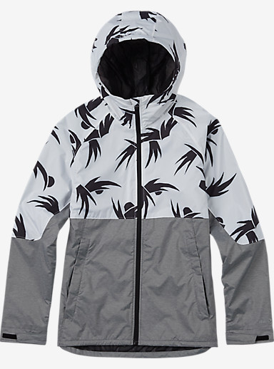 Burton Berkley Rain Jacket shown in Blanco Modern Floral