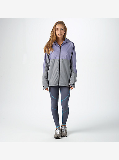 Burton Berkley Rain Jacket shown in Purple Heather