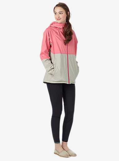 Burton Berkley Jacket shown in Coral Heather / Dove Heather