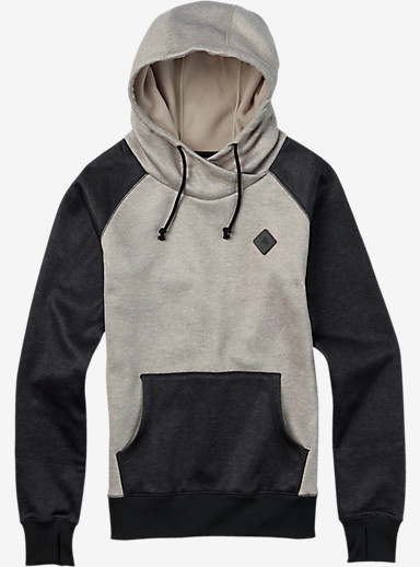 Burton Heron Pullover Hoodie shown in Dove Heather