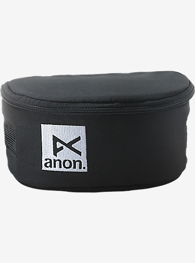 anon. Goggle Case shown in Black