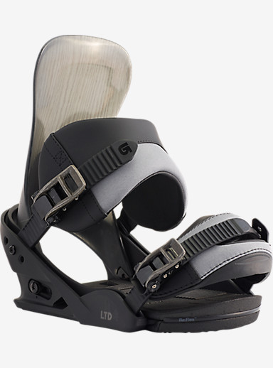 Burton LTD Snowboard Binding shown in Black