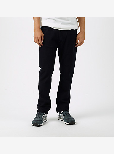 Burton B77 Slim Denim Pant shown in True Black