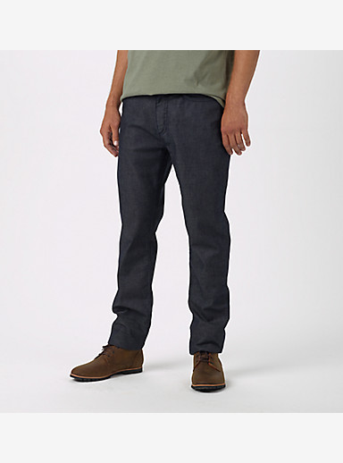 Burton B77 Slim Denim Pant shown in Indigo Rinse