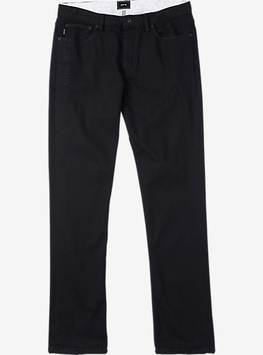 Burton B77 Slim/Straight Denim Pant shown in True Black