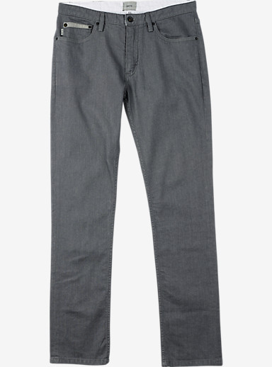 Burton B77 Slim/Straight Denim Pant shown in Gray