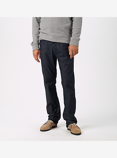 Burton B77 Slim/Straight Denim Pant shown in Indigo Rinse