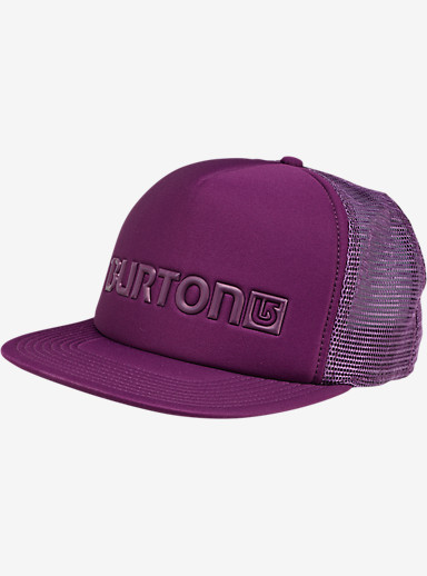 Burton Shadow Trucker Hat shown in Potent Purple