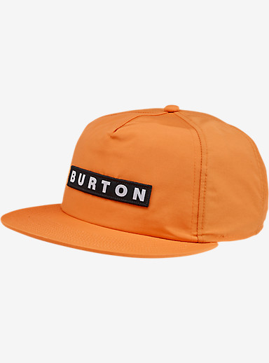 Burton Vault Snap Back Hat shown in Firecracker
