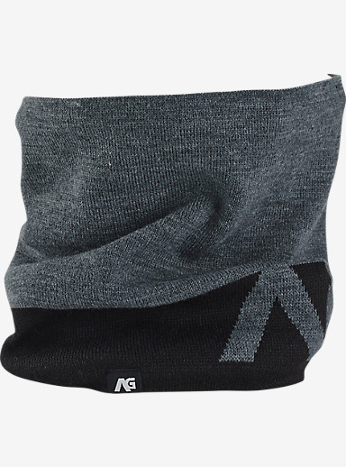 Analog Bandage Neck Gaiter shown in Heather Grey