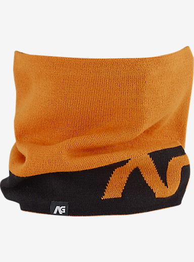 Analog Bandage Neck Gaiter shown in Safety Orange