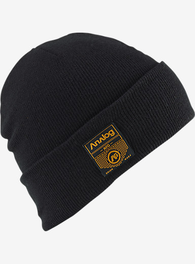 Analog Service Beanie shown in Black