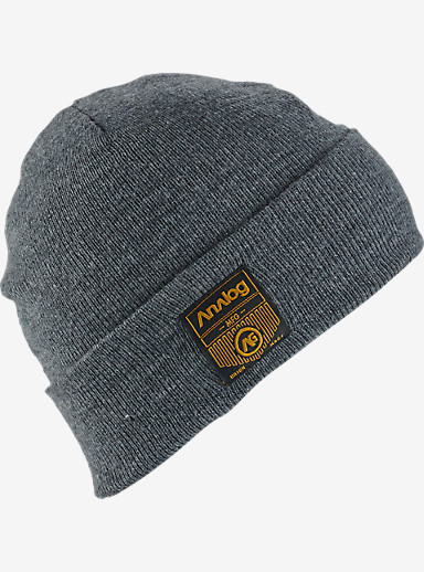 Analog Service Beanie shown in Heather Grey