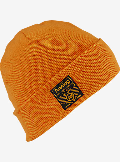 Analog Service Beanie shown in Safety Orange
