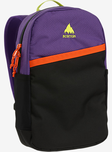 Burton Apollo Backpack shown in Grape Crush Diamond Ripstop [bluesign® Approved]