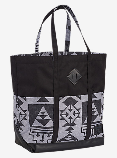 Burton Crate Tote - Large shown in Neu Nordic Print