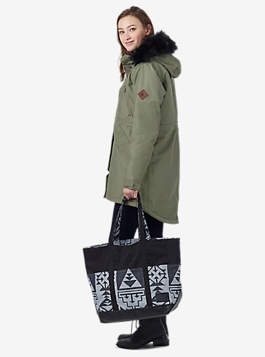 Burton Crate Tote - Medium shown in Neu Nordic Print