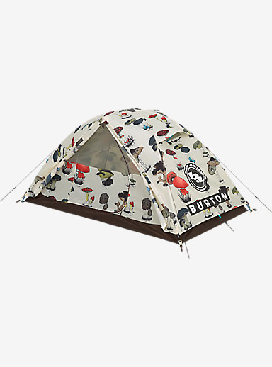 Big Agnes x Burton Nightcap Tent shown in Shrooms