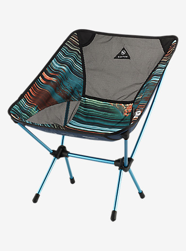 Big Agnes x Helinox x HCSC x Burton Camp Chair shown in HCSC Scout Bright