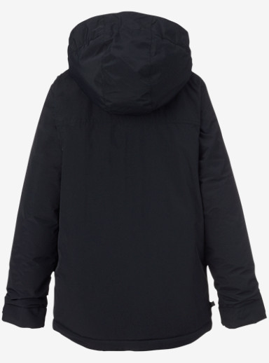 Burton Boys' Amped Jacket shown in True Black