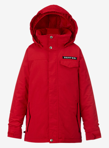 Burton Boys' Amped Jacket shown in Process Red