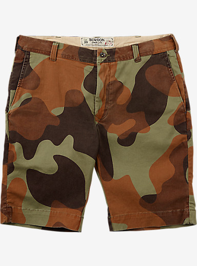 Burton Boys' Sawyer Short shown in Mountain Camo