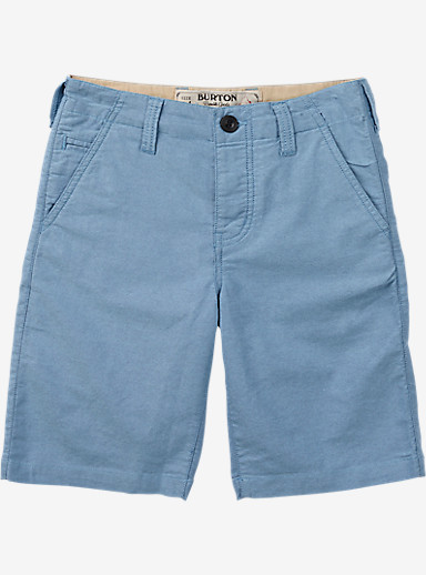 Burton Boys' Kingfield Short shown in Dark Denim Heather