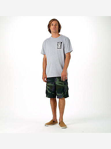 Burton Cargo Short shown in Beetle Derby Camo