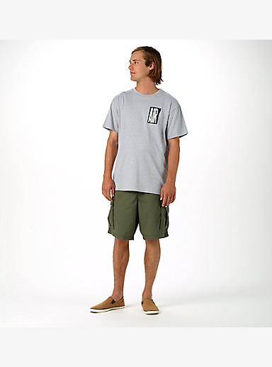 Burton Cargo Short shown in Olive Night
