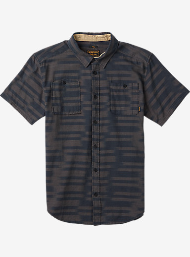 Burton Glade Short Sleeve Shirt shown in Ikat Woven