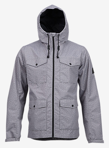 Burton Danny Jacket shown in Dark Ash Heather