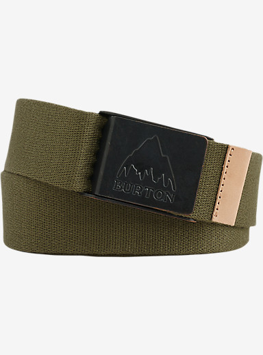 Burton MTN Vista Belt shown in Olive Night