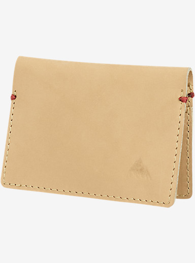 Burton Card Fold Wallet shown in Natural