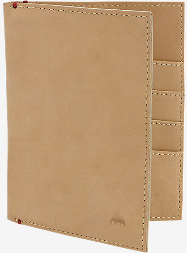 Burton Passport Folio shown in Natural