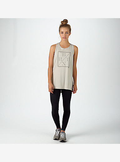 Burton Haskell Tank shown in Dove Heather