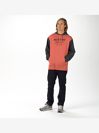Burton Durable Goods Pullover Hoodie shown in Dusty Cedar