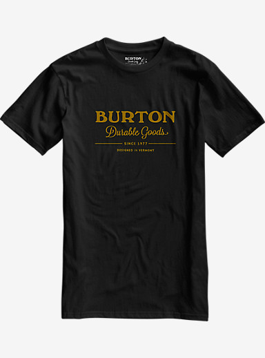 Burton Durable Goods Short Sleeve T Shirt shown in True Black