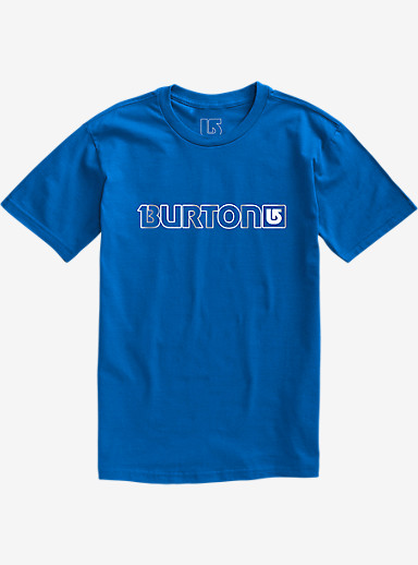 Burton Logo Horizontal Short Sleeve T Shirt shown in Web