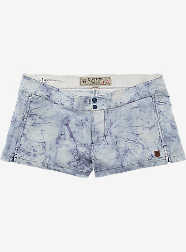 Burton Shearwater Boardshort shown in Indigo Stone Print