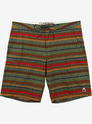 Burton Moxie Boardshort shown in Keef Blanket Stripe