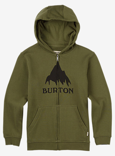 Burton Classic Mountain Full-Zip Hoodie shown in Keef