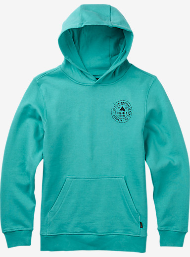 Burton Boys' BMC Pullover Hoodie shown in Lagoon