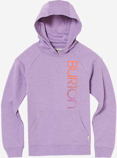 Burton Girls' Antidote Pullover Hoodie shown in Dusty Grape