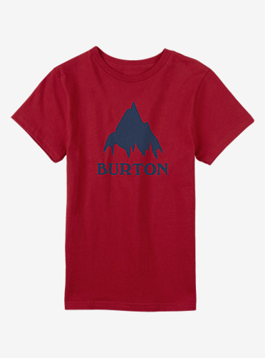 Burton Classic Mountain Short Sleeve T Shirt shown in Process Red
