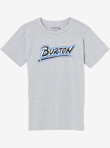 Burton Boys' Big Up Short Sleeve T Shirt shown in Gray Heather