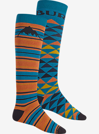 Burton Weekend Sock 2 Pack shown in Maui Sunset