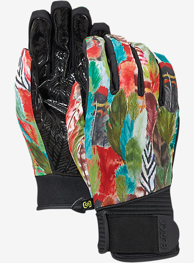 Burton Women's Park Glove shown in Watercolor Feathers