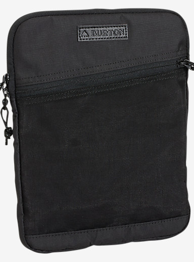Burton Hyperlink 10in Tablet Sleeve shown in True Black Triple Ripstop
