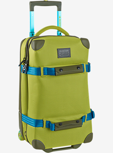 Burton Wheelie Flight Deck Travel Bag shown in Toxin Bonded Ripstop